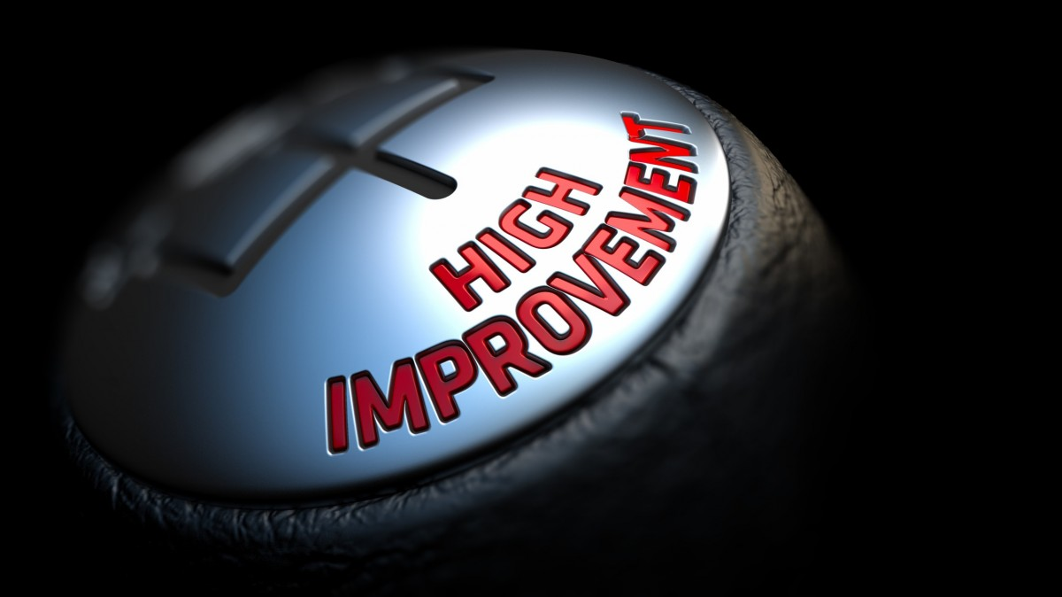 clutch that says high improvement
